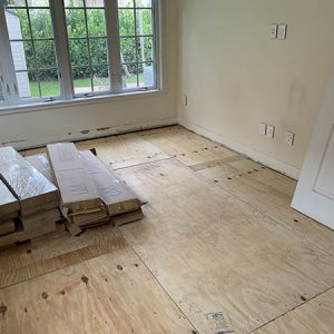 flooring reinstallation